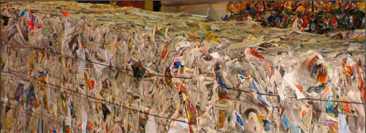 Paper recycling: To sort or not to sort
