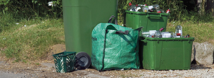 Mandatory municipal composting slowly grows