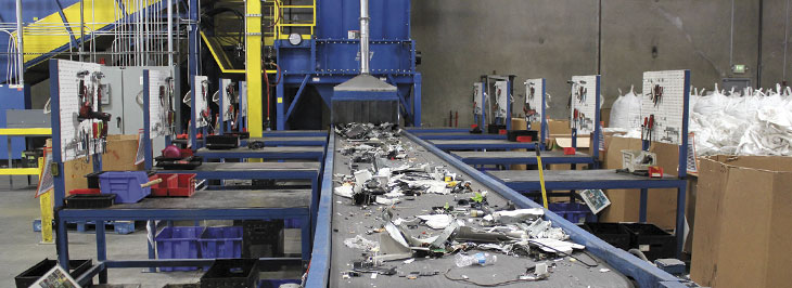 Sims awards Unisys for e-waste recycling